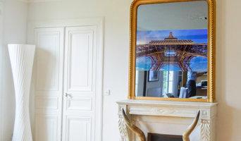 Miroir TV Trumeau Haussmannien Paris X