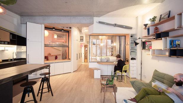 Contemporáneo Sala de estar by Atelier Pelpell