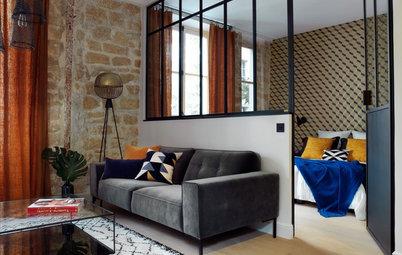 Avant/Après : Un studio de 45 m² transformé en deux-pièces