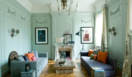 L'Eredità Haussmaniana Parigina in una Casa per una Famiglia