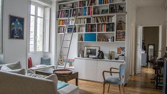 Réamenagement appartement haussmanien