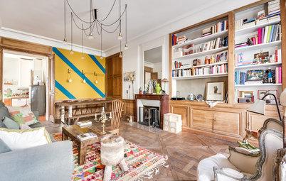 Visite Privée : Une déco venue d'ailleurs dans un 90 m² parisien
