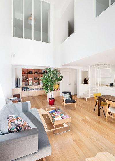 Moderne Salle de Séjour by arnaud & delrue architectes