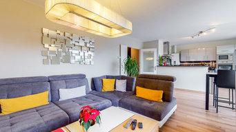 Rénovation Appartement T4 - Le séjour