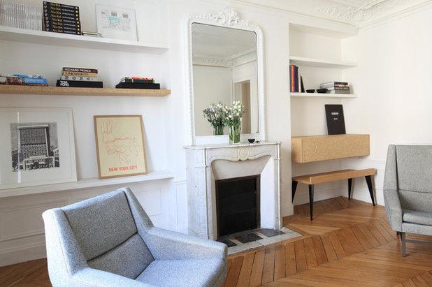 Interior designer atelier premier étage · contemporary family games room by atelier premier etage