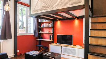 Rénovation complète d'un studio - Clichy