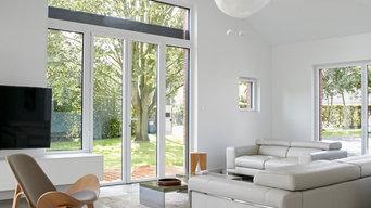 Rénovation complète d'une maison avec la création de deux extensions