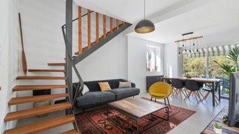 RÉNOVATION COMPLÈTE D'UNE MAISON DE 100 m²