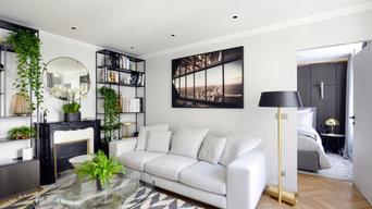 Rénovation d'appartement de luxe dans le Marais