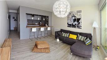 Rénovation d'un appartement à Concarneau