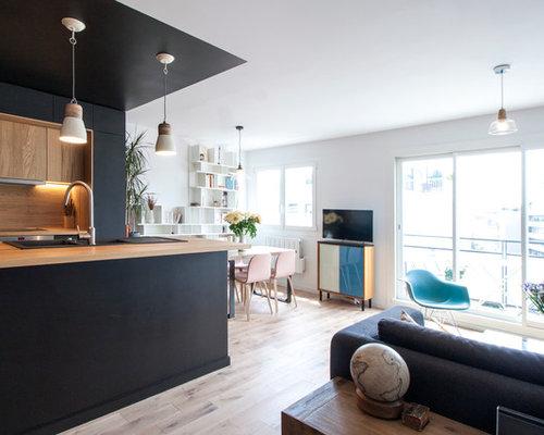 R novation d un appartement paris buttes chaumont for Salle de sejour 2 mots