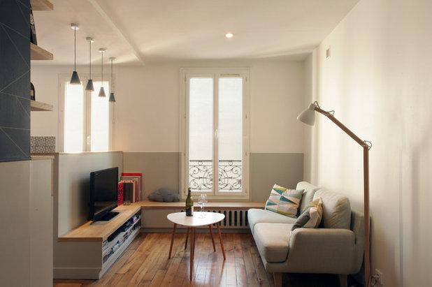 ... Für Kleine Räume. Skandinavisch Wohnzimmer By Bän Architecture