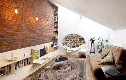 Visite Privée : Un grenier transformé en appartement familial