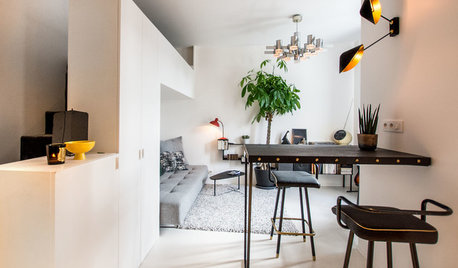 Houzz Tour: Lyst mini-hjem på bare 20 kvm – med tre sengepladser