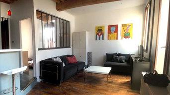Rénovation d un studio – petit espace pour beaucoup de fonctions