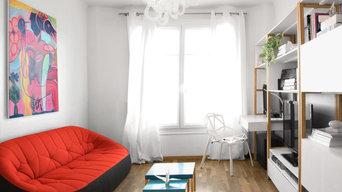 Rénovation et décoration appartement  | Issy-les-Moulineaux I Séjour