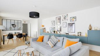 Rénovation pièce à vivre et cuisine pour un achat d'appartement