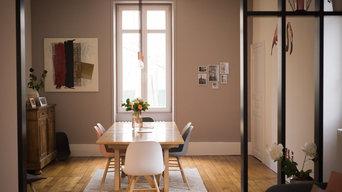 Rénovation salon et salle à manger maison style année 30