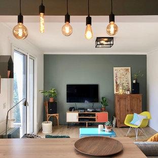 Restructuration d'un appartement de 80m² pour une famille francilienne