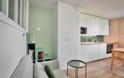 Avant/Après : Un appartement squatté transformé en nid douillet