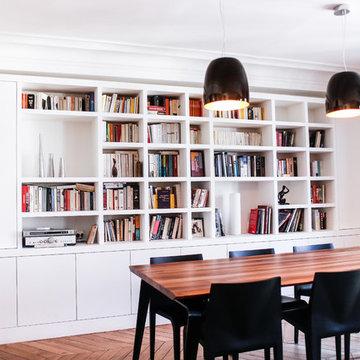 Rue des Petits-Hôtels - Rénovation complète d'un appartement à Paris