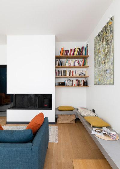 Современный Семейная комната by ARCHIPELLES