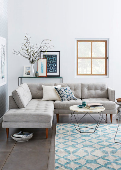 13 Ways to Work Your Room Around a Grey Sofa