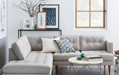 13 Ways to Style Your Room Around a Grey Sofa
