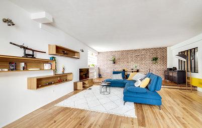 Avant/Après : La métamorphose radicale d'un loft à Montreuil