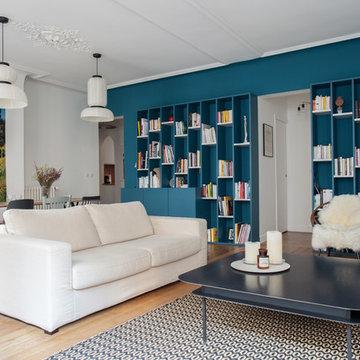 SMB - salle de séjour contemporaine