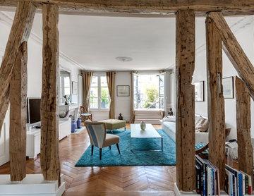 Spacieux appartement parisien