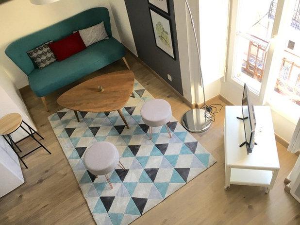 Nórdico Sala de estar by Home by Eva