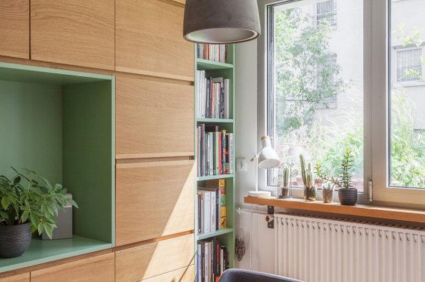 Скандинавский Семейная комната by ARCHITECT + DESIGNER