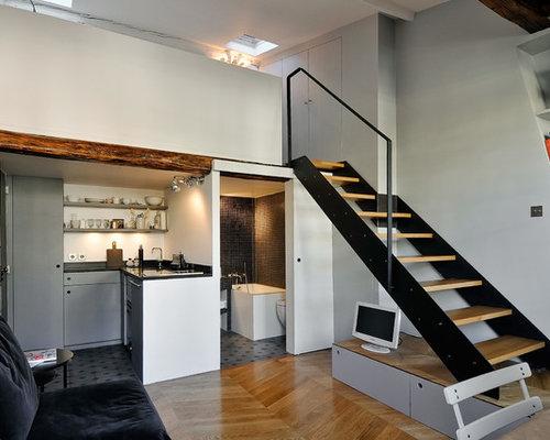Images de d coration et id es d co de maisons escalier sur for Bureau estrade