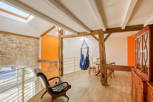 Classique Salle de Séjour by ArchiMA'Home