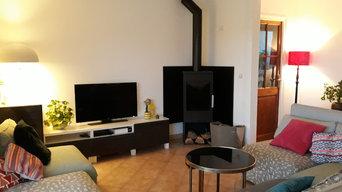Villa Sud Cévennes -  Actualisation et rénovation d'un salon