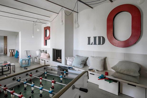 comment int grer un flipper un billard ou un baby foot dans sa d co. Black Bedroom Furniture Sets. Home Design Ideas