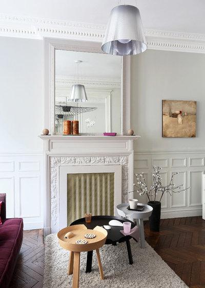 Современный Семейная комната by Julie Nabucet Architectures