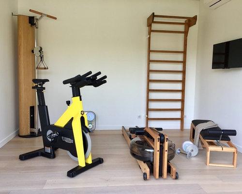 Skandinavischer fitnessraum ideen f r ihr home gym for Boden fitnessraum