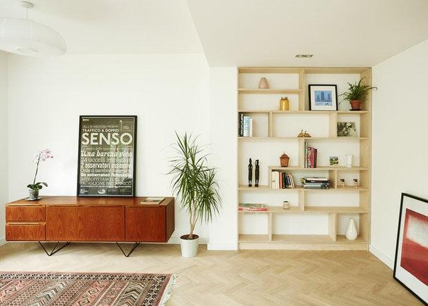 Contemporáneo Salón by VENTURA REGALADO Architects & Designers