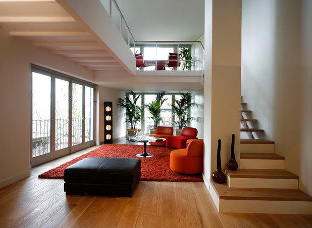 Contemporáneo Salón by Teófilo. Carpintería de Aluminio