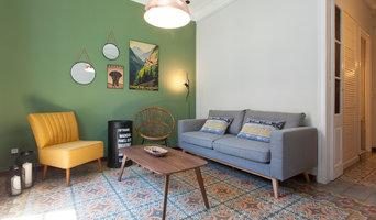 Apartamento en el Eixample - Salón