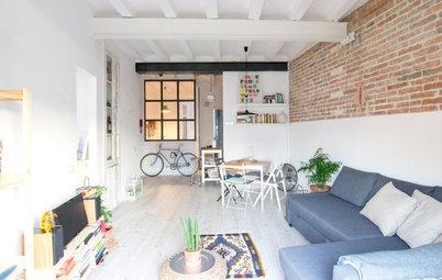 Casas Houzz: 48 metros de vivienda y despacho para dos personas