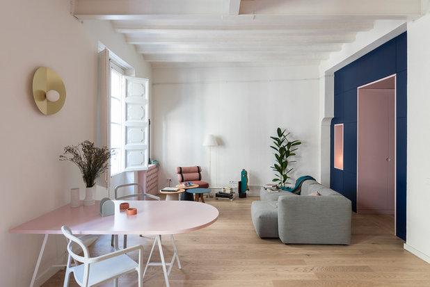 Contemporáneo Salón by CaSA - Colombo and Serboli Architecture