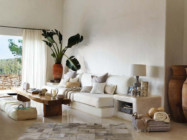 Mediterranean Living Room by ZARA HOME