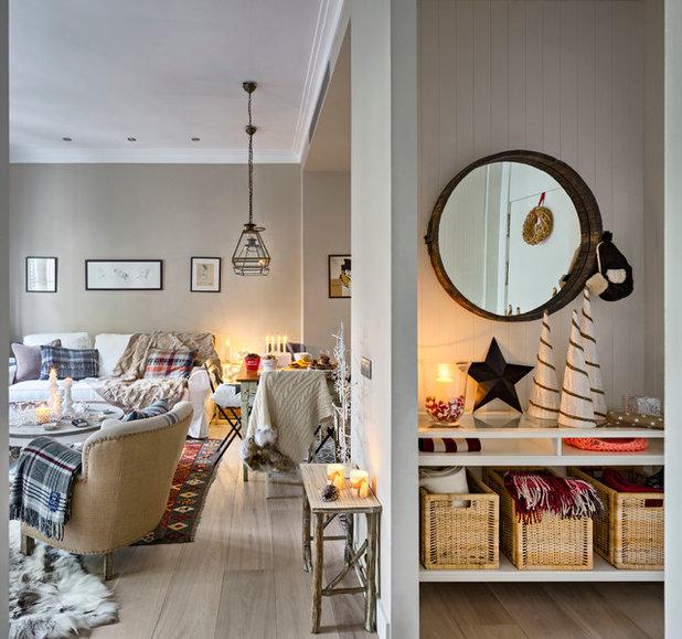Scandinavian Living Room by Carolina Verdugo Svensson
