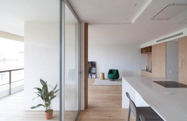 Nórdico Salón by CALMA estudio de arquitectura
