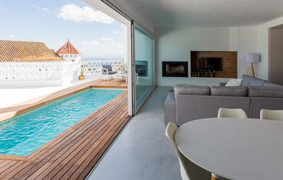 Houzz in Spagna: Una Villa Andalusa con una Piscina sul Tetto