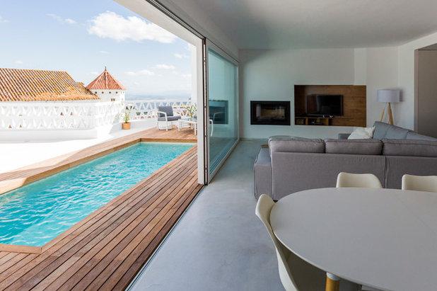Mediterran Wohnbereich by DTR_studio arquitectos