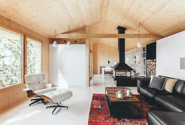 Scandinave Salon by dom arquitectura